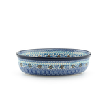 Ovale Schaal 21cm Blue Coral_