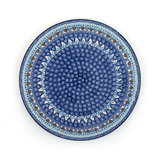 Pizza Plate Blue Coral_