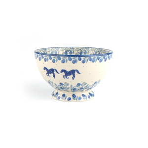 Bowl on foot 630ml Horse