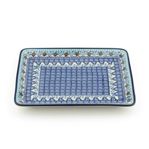 Tray large Blue Coral